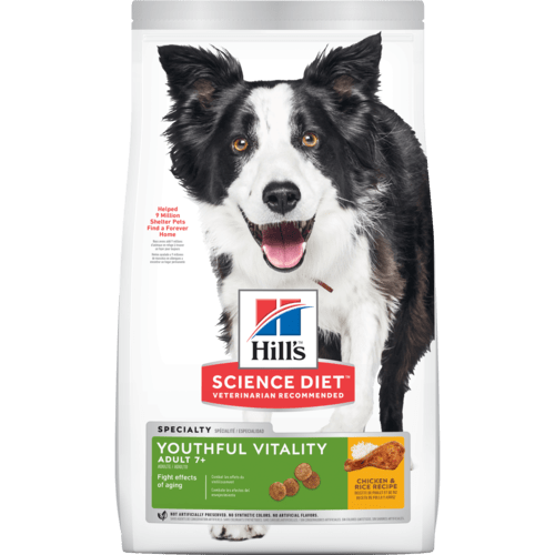 Hill's Science Diet Youthful Vitality Adult +7